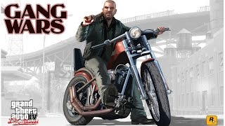 GTA IV The Lost and Damned Biker Gang WARS Gameplay(GTA 5 ONLINE DLC BIKERS Hype)
