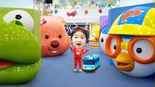 타요 뽀로로 키즈카페에서 신나게 놀아요! 타요버스 뽀로로 키즈파크 실내놀이터 Indoor Playground Family Fun Play Area for Kids