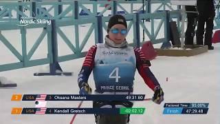 Kendall gretsch of the usa takes victory in women's biathlon individual at world para nordic skiing championships prince george, canada.more...