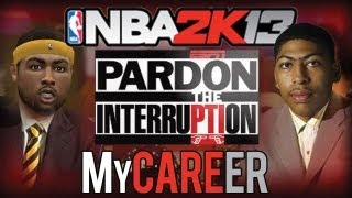 NBA 2K13 MyCareer: ESPN Pardon The Interruption | First Start | 39 Points 19 Assists 8 Rebounds