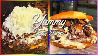 Yummy Tasty Food  Cheese Burger Recipe  Oddly Satisfying Video  Cooking Video Street Food #shorts
