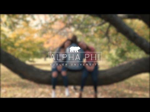Butler University Alpha Phi Recruitment Video 2018