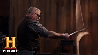 Forged in Fire: Coal-Forged Blade Tests (Season 5, Episode 9) | History