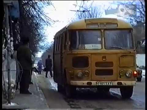 На проспекте Ленина зимой