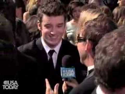 Celeb Watch: Michael Urie at the 2007 Emmys