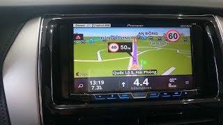 Cách sử dụng bản đồ dẫn đường GPS trên Vios và Yaris