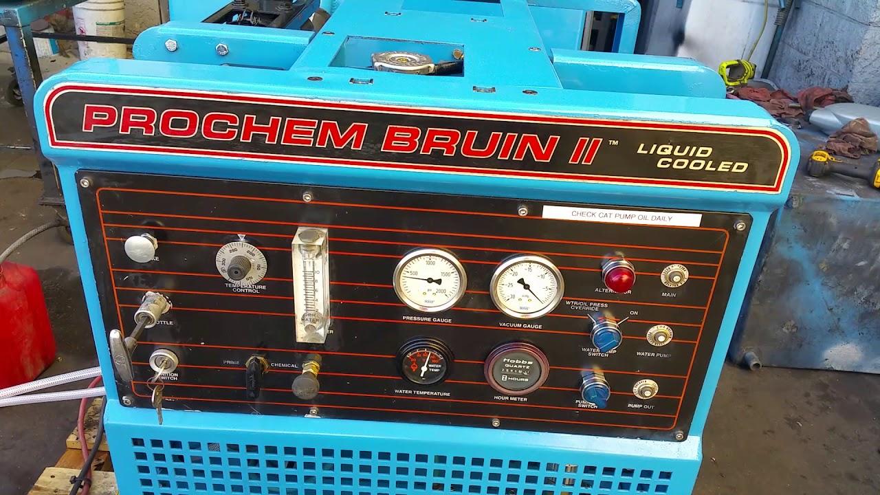 Prochem bruin II carpet cleaning machine for sale