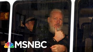 Scandal: Trump Is First President To Indict Press For Espionage | The Beat With Ari Melber | MSNBC