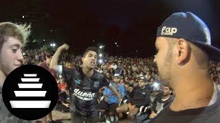 Mks & Duki Vs Beelze & Paulo - Semifinal  Pretemporada 2vs2 2017  - El Quinto Escalón