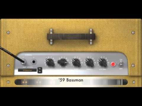Amplitube 3 - Fender Amps Demo