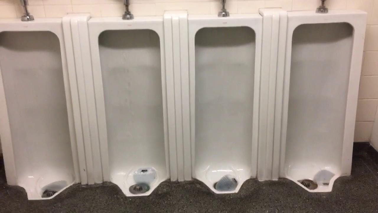 556. 4 Vintage Crane Urinals, 2 Mondern Crane Hymont(?) - YouTube