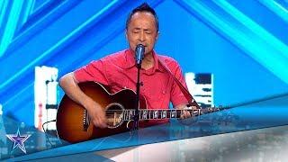 Es de TAIWÁN y sueña con GANAR con su VOZ | Audiciones 4 | Got Talent España 5 (2019)