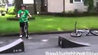 Kids Falling from bikes funny fails compilation