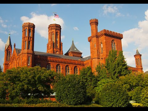 Visiting Smithsonian Institution, Museum in Washington, D C , United States