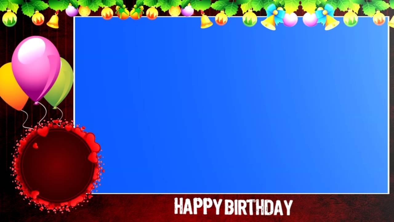 Birthday Hd Backgrounds Youtube