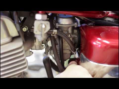 Honda Rebel 250 carburetor removal and cleaning 2007
