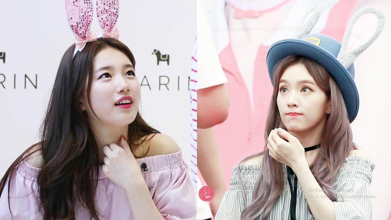 Female Rabbit Idols Of Kpop Surname Bae Youtube