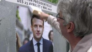Outsider candidates top contenders in French election