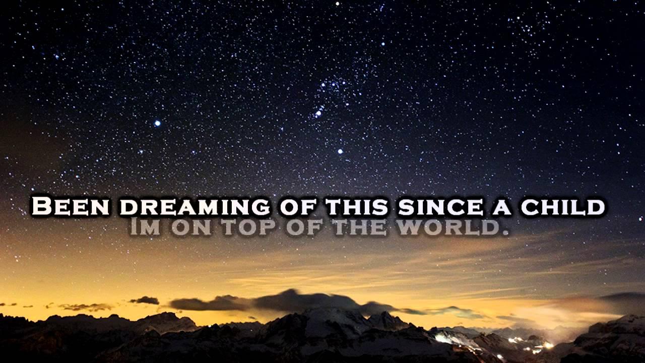 Imagine Dragons - On Top of the World - Lyrics - YouTube