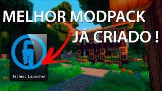 O MELHOR MODPACK PARA MINECRAFT 1.7.10