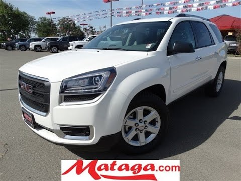 Roseville Buick Gmc >> 2015 GMC Acadia SLE2, BlueTooth, 3rd row seat for sale ...