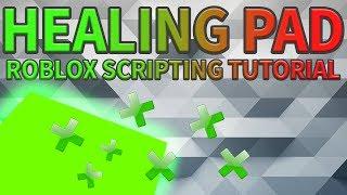 Healing Pad Tutorial | Roblox Scripting Tutorials 📜📜