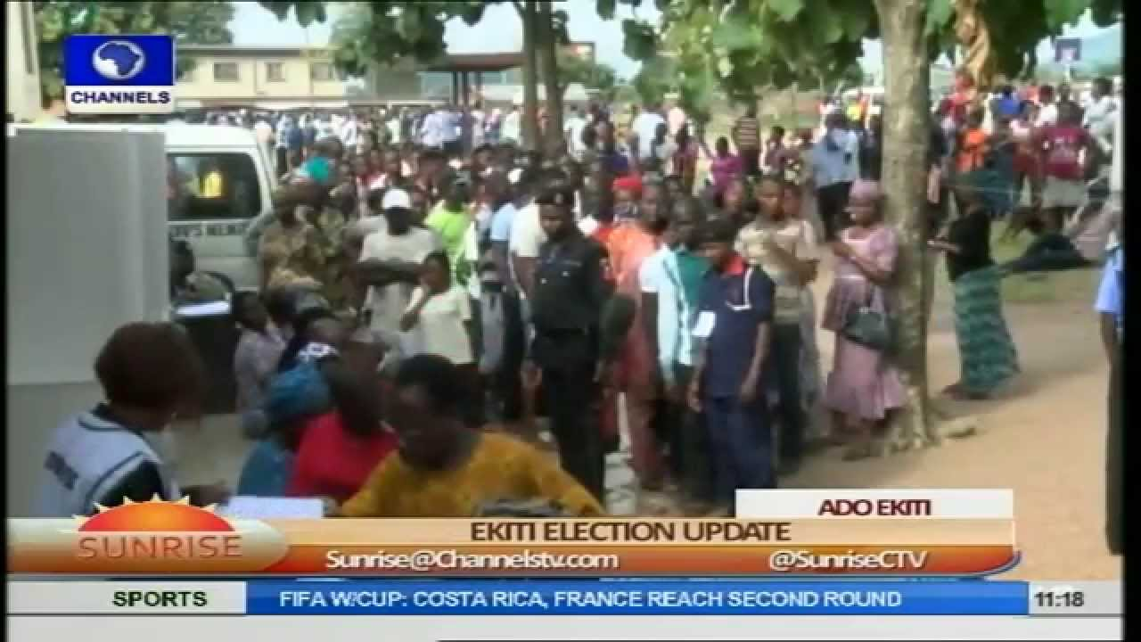 Ekiti Gov'ship Election: Security Operatives Make Arrests As Accreditation Continues