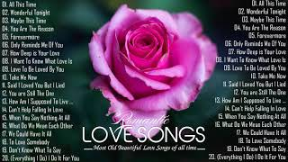 Most Old Beautiful Love Songs 70's 80's 90's 💖 Romantic Love Songs All Time Of 80's 90's Playlist