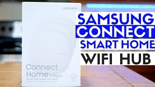 Samsung Connect Home Review - Best Smart Home Tech