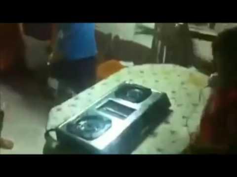 Dj Pake Kompor Gas Gokil Abis, Awaz Meledak