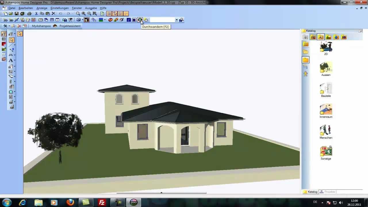 Ashampoo home designer pro i architektur software i for Architektur software