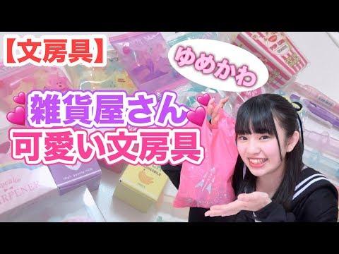 【文房具】めっちゃ可愛い文房具が雑貨屋さんにあったとは!!!