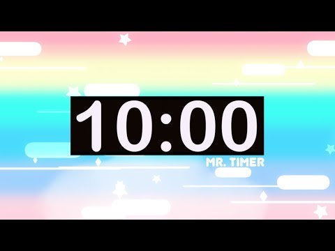 10 Minute Countdown Timer with Music for Kids! - YouTube