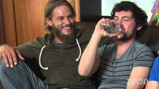 DP/30 Sneak Peek: Vikings, actors Travis Fimmel, George Blagden