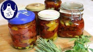 Tomaten selber trocknen und in Öl einlegen