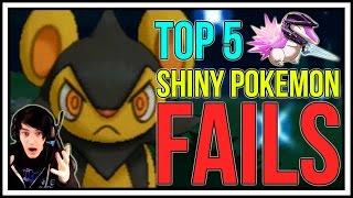 TOP 5 SHINY POKEMON FAILS! Shiny Pokemon Reactions! Pokemon X/Y & Pokemon ORAS