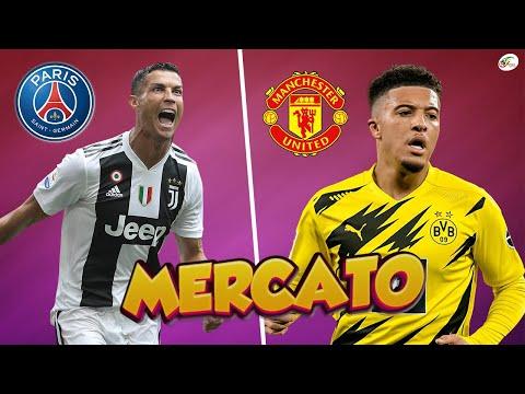 CR7 est clairement prévenu pour le PSG.. Jadon Sancho va filer à Manchester United   Mercato