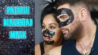 SNOOKI TRYING PAINFUL PEEL OFF BLACKHEAD MASK with Joey Camasta