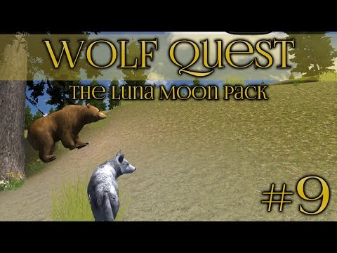 Wolf Quest 🐺 A Bear Moves Into the Den! - Episode #9