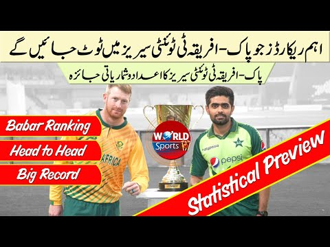 Records that could be broken in Pakistan vs South Africa T20 series 2021 | PAK vs SA T20 2021