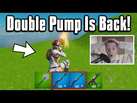 Double Pumping In Fortnite Chapter 2! - It ACTUALLY Works!