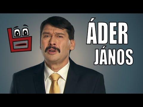 Bábeltévé - Áder János: Újévi félrebeszéd (szájszinkron-paródia)
