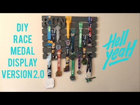 DIY Medal Display - Version 2.0!