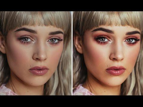Enhance Makeup in Photoshop - Good for Makeup Artists!