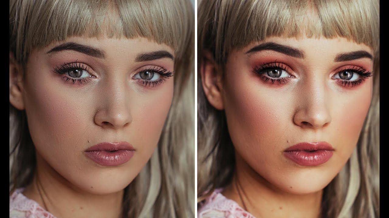 Enhance Makeup in Photoshop  Good for Makeup Artists