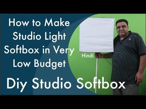 How to Make Diy Studio Light Soft Box in very low budget in Hindi  sc 1 st  YouTube & How to Make Diy Studio Light Soft Box in very low budget in Hindi ... azcodes.com