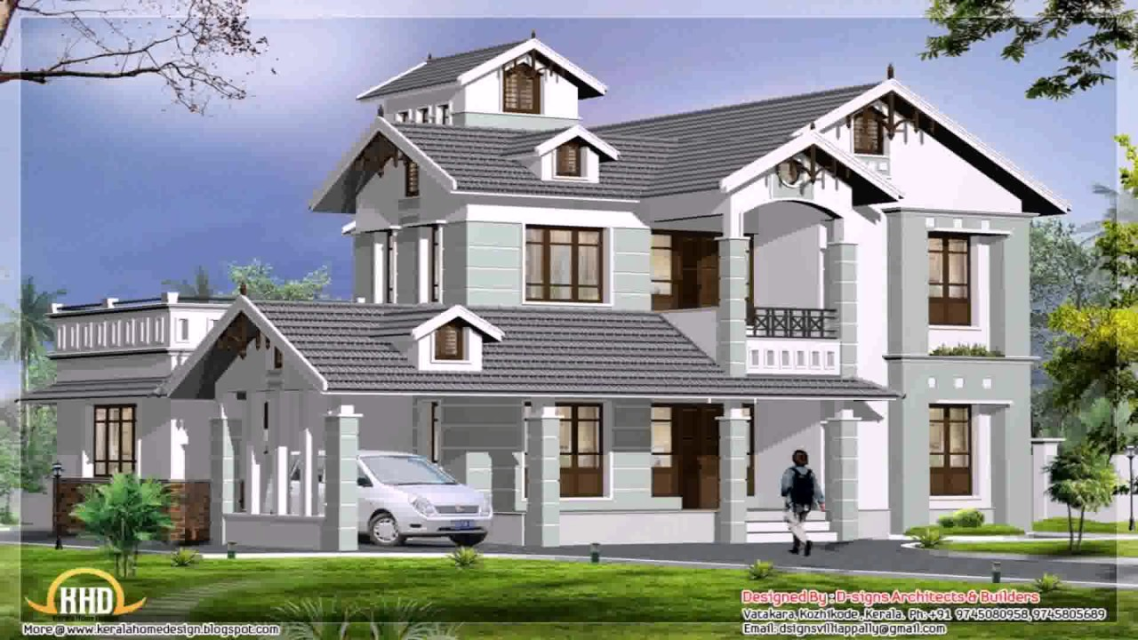 2000 square feet house design india youtube for Best 2000 sq ft home design