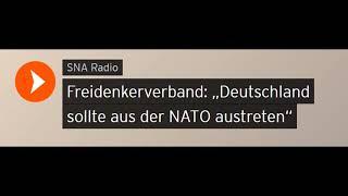 """Freidenkerverband: """"Deutschland sollte aus der NATO austreten"""" (Sputniknews)"""