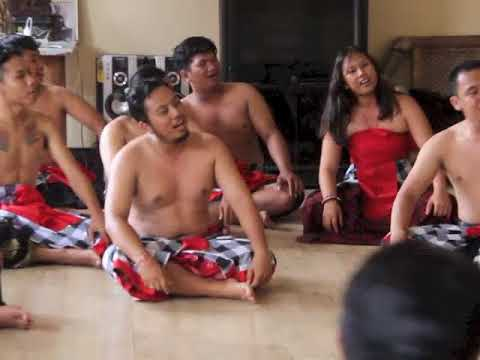 Kecak Brawa Beach Arts Festival (Sample)