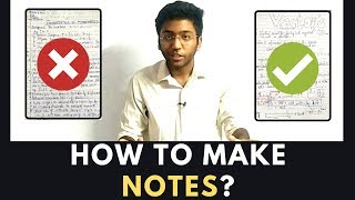 How To Make Notes?   Must Watch For All Students Studying Online
